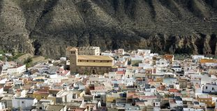 Tabernas Spain Stock Images