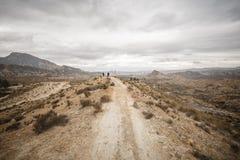 Tabernas-Wüste - AlmerÃa, Spanien lizenzfreies stockbild