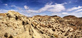 Tabernas woestijn Royalty-vrije Stock Afbeeldingen