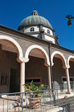 Tabgha, Israel, Middle East, Church of the Beatitudes, Holy Land, pilgrimage, Sermont on the Mount. View of the Church of the Beatitudes on September 3, 2015 Stock Photo