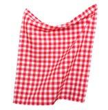 Tabkecloth隔绝了 野餐毛巾 免版税库存照片