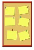 Tablón de anuncios ilustración del vector