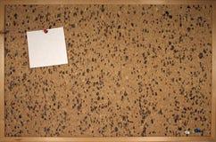 Tablón de anuncios Foto de archivo libre de regalías