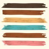 Tablón de madera ilustración del vector