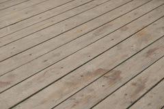 Tablón de madera anguloso fotografía de archivo
