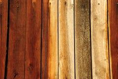 Tablón de madera de Brown Imagen de archivo libre de regalías