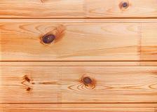Fondo ligero del tablón de madera de pino Foto de archivo libre de regalías