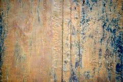 Tablón oxidado del metal Fotos de archivo libres de regalías