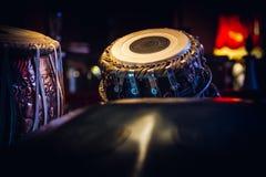 Tabla étnico del instrumento musical dentro de la frialdad-hacia fuera Fotografía de archivo