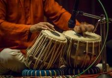 Tabla -印地安乐器 库存照片