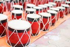 Tabla, artigos do artesanato na exposição, Kolkata Imagens de Stock