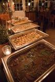 Tabla de comida fría en un evento de lujo Fotografía de archivo