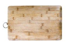 Tabla de cortar de bambú Fotos de archivo