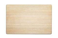 Tabla de cortar de madera de la ceniza Imágenes de archivo libres de regalías
