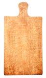 Tabla de cortar de madera rústica tradicional Fotos de archivo