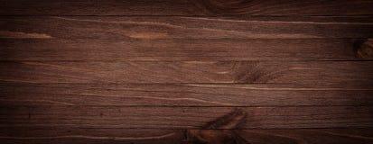 Tabla de cortar de madera rasguñada del marrón oscuro Backgrou de madera de la textura Imagen de archivo libre de regalías
