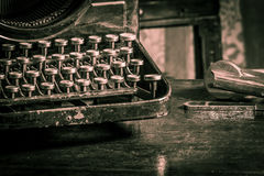 Tabla de escritura de alta calidad del viejo estilo Imagenes de archivo