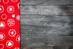 Tabla de la Feliz Año Nuevo 2017 con el azúcar y el chocolate Foto de archivo libre de regalías