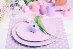 Tabla de la porción de Pascua imagen de archivo libre de regalías