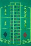 Tabla de la ruleta Imagen de archivo libre de regalías
