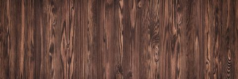 Tabla de madera de Brown, vieja textura de madera como fondo imagen de archivo libre de regalías