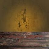 Tabla de madera vacía Foto de archivo