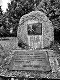 Tabla de memoria Mirada artística en blanco y negro Fotos de archivo libres de regalías