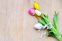 Tabla de Pascua Foto de archivo libre de regalías