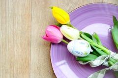 Tabla de Pascua Fotografía de archivo