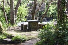 Tabla de piedra Foto de archivo