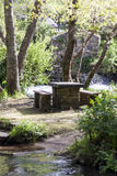 Tabla de piedra Fotografía de archivo libre de regalías