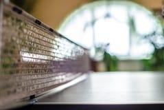 Tabla de ping-pong en casa Fotografía de archivo libre de regalías