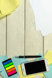 Tabla de trabajo, tabla de funcionamiento fotografía de archivo