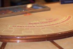 Tabla del póker Fotos de archivo