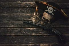 Tabla del pirata foto de archivo libre de regalías