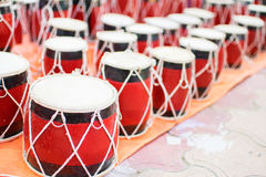 Tabla, handicraft items on display , Kolkata Stock Images