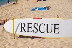 Tabla hawaiana Hawaii del rescate foto de archivo libre de regalías