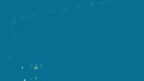 Tabla periódica de los elementos stock de ilustración