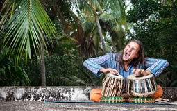 Tabla player Royalty Free Stock Image