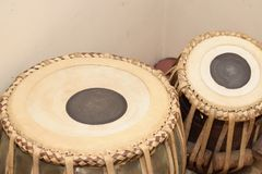 TABLA, the popular percussion instrument from India stock photos