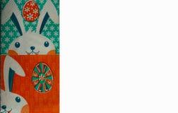 Tabla-servilleta de Pascua Fotografía de archivo libre de regalías