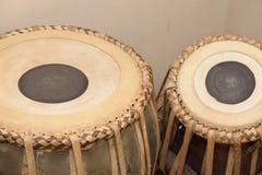 Tabla-Trommel, der Stoß vom indischen Vorkontinent lizenzfreie stockfotos