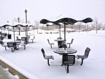Tablas de la nieve Fotografía de archivo libre de regalías