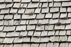 Tablas del tejado Imagen de archivo libre de regalías