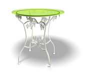 Table élégante Photo libre de droits