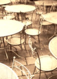 Table. Still life  chairs and table Royalty Free Stock Photography