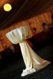 Table. Turabo wedding ballroom for weddings Stock Image