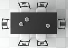 table 3d dinante Photo stock