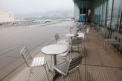 Free Table And Chair Of Coffee Cafe Is Outdoor Stock Images - 80585384