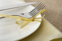 Table appointments Royalty Free Stock Images